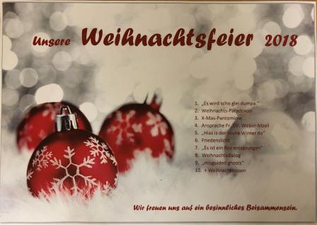 Ansprache Weihnachtsfeier.Weihnachtsfeier Des Jugendhaus Plüddemanngasse 2018
